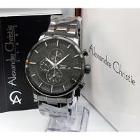 Jam tangan pria cowok alexandre christie original chrono stainless 3