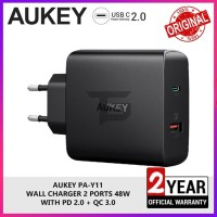 AUKEY PA-Y11 Charger Power Delivery PD Quick Charge 3.0 Fast Charging