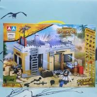 mainan Lego PUBG battleground survival (non ORI)