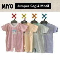 Jumper Miyo Segi Empat Garis