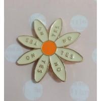 Magnet Jarum - Bunga Daisy 2