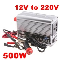 Power Inverter 500 Watt Inverter 500W DC To AC 12V To 220V