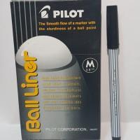 Pulpen Pilot Ball Liner Hitam