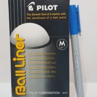 Pulpen Pilot Ball Liner Biru