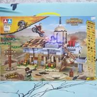 mainan lego PUBG battlegrounds (non ORI) Lego battleground besar