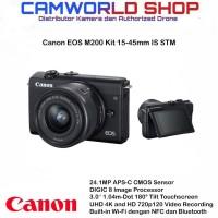 Canon EOS M200 Kit 15-45mm IS STM Garansi 1 tahun