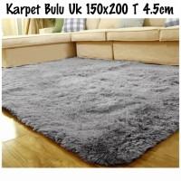 Karpet bulu lembut 150*200 Tebel 4cm