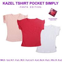 Kazel Tshirt Pocket Simply Fanta Edition / Kaos Anak