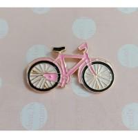 Magnet Jarum - Sepeda Pink