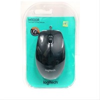 MM-Logitech Wired Cable Mouse Logitec Kabel USB m100r m100 m 100 r