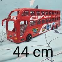 mainan BUS tingkat bis mainan double decker bus