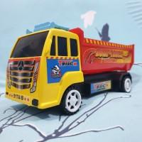mainan truk bak terbuka truk pasir / dump truck