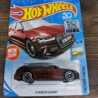 Hot Wheels Audi Rs 6 avant treasure Hunt THS FS factory sealed 2018