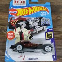 Hot Wheels Cruella de vil treasure Hunt THS FS factory sealed 2018