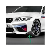 Original BMW F87 M2 M Performance Carbon Lip Front Spoiler KANAN KIRI