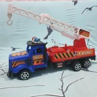 mainan truk crane truck / truk crane tangga
