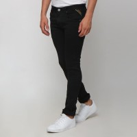 Boy London Celana Jeans Pria Original - Black Slim Fit - Hitam, 29