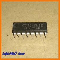 1 x MC14049 Hex Buffer  DIP 16-Pin