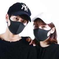 Masker anti debu anti polusi model scuba korea tebal