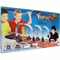 track racing 3 jalur 3 lajur mainan jalanan hotwheel / track hotwheel