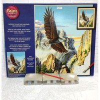 Paket Melukis Paint By Number Dimensions 91301 Soaring Eagle Elang