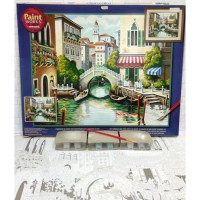 Paket Melukis Paint By Number Dimensions 91303 Scenic Canal Venice