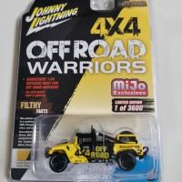 Johnny Lightning Hummer H1 race truck offroad mijo exclusive JL TLC