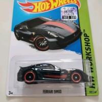Hot Wheels Ferrari 599xx hitam super treasure Hunt THS FS 2015