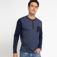 Cressida Mandarin Collar T-Shirt B064