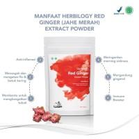Herbilogy Red Ginger (Jahe Merah) Extract Powder 100g