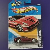 Hot Wheels Ferrari 599xx merah super treasure Hunt THS non FS 2011