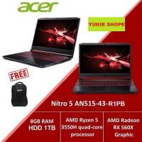"Acer Predator AN515-43-R1PB Ryzen 5-3550H/15,6"" FHD/8GB/1TB HDD/Win 10"