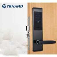 Intelligent Password Tap Key Card Door Unlock Right Open