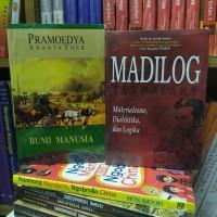 paket dua buku madilog bumi manusia