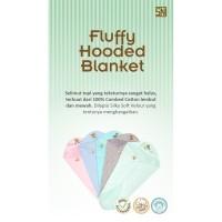 Babybee Fluffy Hooded Blanket / Selimut Topi Bayi