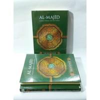 Alquran Tajwid Terjemah Al-Majid ukuran A5, Al-Quran A