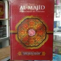 Alquran Tajwid Terjemah Al-Majid ukuran A4, Al-Quran A