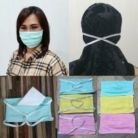 Masker Kain Hijab Bisa 3 Ply