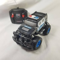 Mobil Remote Control Mobil Polisi Cruzer 1:20 squad police car SNI