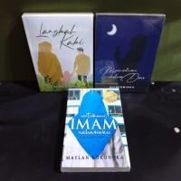 paket tiga novel islami langkah kaki mencintaimu dalam doa untukmu ima