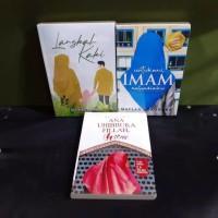 paket tiga novel langkah kaki untukmu imam rahasiaku ana uhibbuka fill