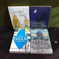 paket 4 novel islami langkah kaki mencintaimu dalam doa untuk imam rah