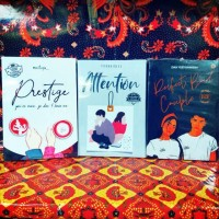 paket tiga novel prestige attention percpect bad couple