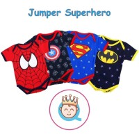 Jumper Bayi Superhero