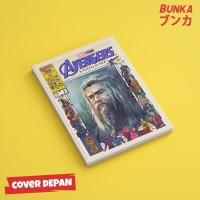 Notebook Marvel Avengers Thor Hardcover A5 Buku Tulis Catatan Note