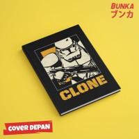 Notebook Star Wars Clone Trooper Hardcover A5 Buku Tulis Catatan Note