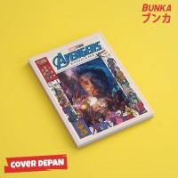 Notebook Marvel Avengers Iron Man Hardcover A5 Buku Tulis Catatan Note