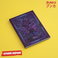 Notebook Stranger Things 6A Hardcover A5 Buku Tulis Catatan Note