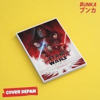 Notebook Star Wars Last Jedi Hardcover A5 Buku Tulis Catatan Note