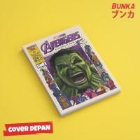Notebook Marvel Avengers Hulk Hardcover A5 Buku Tulis Catatan Note